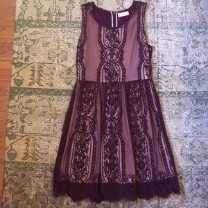 Sleeveless Burgundy Alter'd State dress